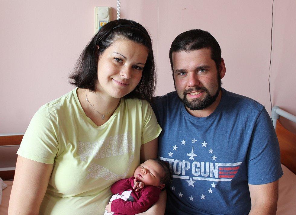 Šarlota Kociňáková ze Žihle se narodila v porodnici na Lochotíně 20. září v 17:26 hodin. Rodiče Jana a Dalibor věděli, že jejich druhorozené miminko bude holčička. Doma se na sestřičku těšila Anna (8).