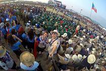 Plzeňští skauti na letošním jamboree v Japonsku