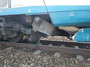 Nehoda Pendolina a BMW u Pňovan