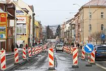 Rekonstrukce Slovanské třídy v Plzni