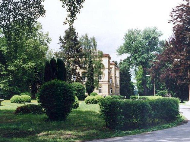Areál psychiatrické léčebny v Dobřanech