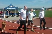 Sobotní trénink na Škoda Fit půlmaraton.