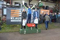 Absolutním vítězem Silvestrovského běhu se stal Pavel Štěpáník (16.19) před osmnáctiletým Martinem Šilhavým (16:50), třetí skončil Stanislav Rada (17:16).