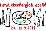Radost z tvoření si loni o Víkendu otevřených ateliérů v Plzni vyzkoušelo na dva tisíce lidí.