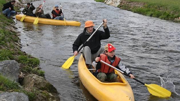 Po vydatných deštích se řeky příliš nerozvodnily, přesto lze v okolí Plzně nalézt několik dobře sjízdných toků. Pro případné zájemce jsou přichystány i specializované půjčovny