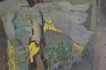 Důraz na plzeňské žáky a následovníky malíře Martina Salcmana klade nová výstava v Galerii města Plzně. Pod názvem Salcmanova škola potrvá až do 7. března (na snímku obraz Bronislava Losenického z roku 1983 pojmenovaný Žlutá skála)