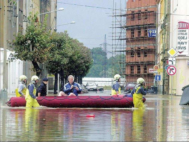 Jednou z oblastí nejvíce postižených povodněmi v roce 2002 byla plzeňská Roudná.