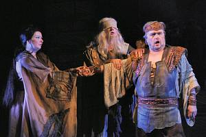 Jan Adamec jako Kalaf v Turandot.