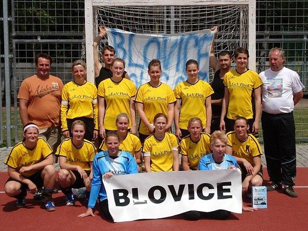 Družstvo národních házenkářek Sokola Blovice