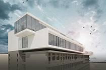 Vizualizace projektu, který navrhla architektka Eva Jiřičná.