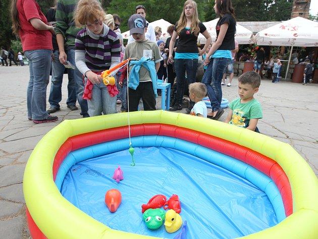 Na děti přímo v areálu zoo čekaly čtyři soutěžní disciplíny