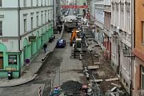 Rekontrukce Veleslavínovy ulice