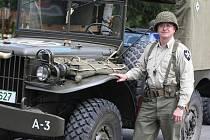 Předseda Military Car Clubu Rudolf Bayer