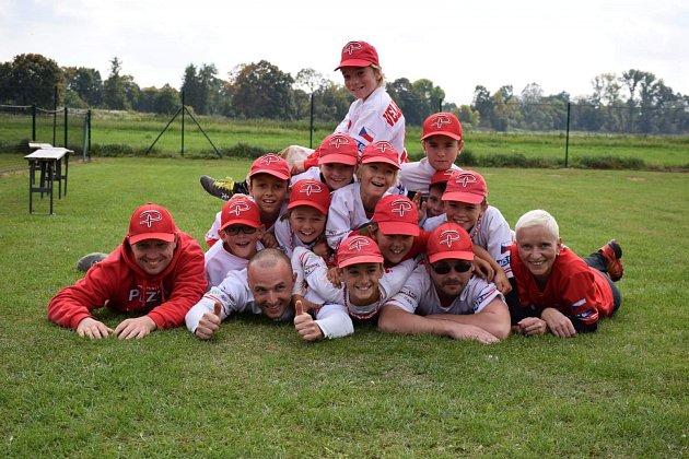 Baseball Plzeň vychovává reprezentanty.
