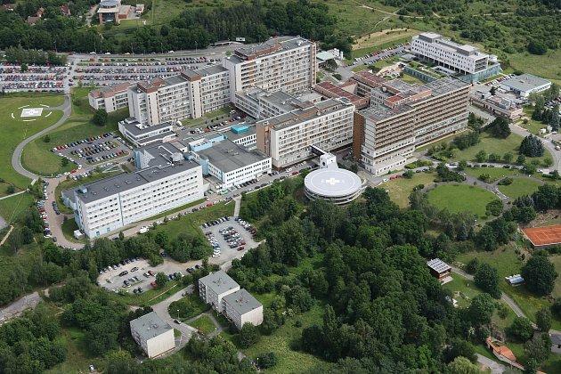 Fakultní nemonice Plzeň, areál na Lochotíně.