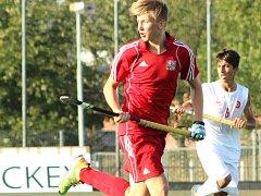 NEJLEPŠÍM STŘELCEM  české reprezentace na ME U18 v pozemním hokeji byl litický Ondřej Sochor.