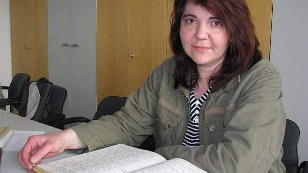Kronikářka Ivana Vodrážková