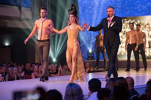 Giorgio fashion show v Parkhotelu