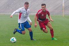 Fotbalisté Petřína porazili Klatovy těsně 2:1.