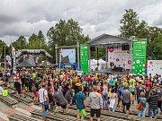 Letní Sportmanie v Plzni za obchodní centrem Plaza