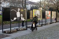 výstava Josef Spejbl na divadelní scéně panelová výstava U Branky