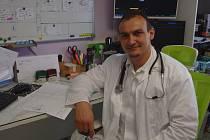 Primář Interního oddělení Nemocnice Privamed v Plzni Antonín Egert.