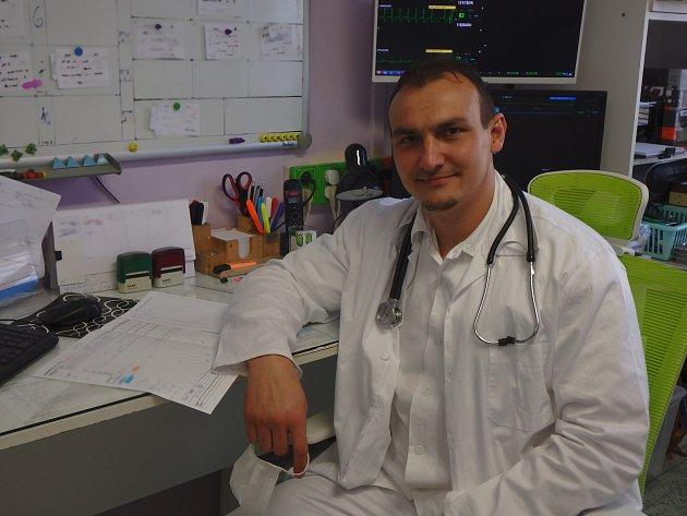 Primář Interního oddělení Nemocnice Privamed vPlzni.