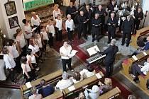 Donosti Ereski z baskického města San Sebastián už koncertovali ve zcela zaplněném štěnovickém kostele sv. Prokopa.