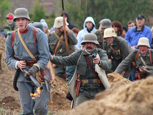 Isonzo 1916, další ročník tradiční akce se konal v Třemošné