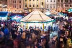Vánoční atmosféra na náměstí Republiky