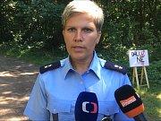 Mluvčí policie Dagmar Brožová o vraždě v Plzni na Roudné