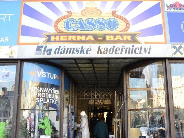 Přepadené kasino v centru města