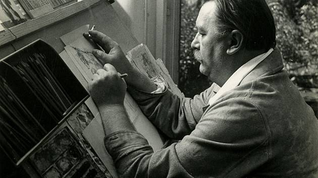 Jiří Trnka (1912 – 1969) patří k nejslavnějším plzeňským rodákům. Byl všestranný umělcem – skvělým malířem, grafikem, sochařem a ilustrátorem,loutkařem i animátorem a filmařem