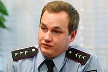 Plzeňský policista Matěj Hyška.