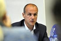 Nový trenér plzeňských hokejistů Martin Straka.