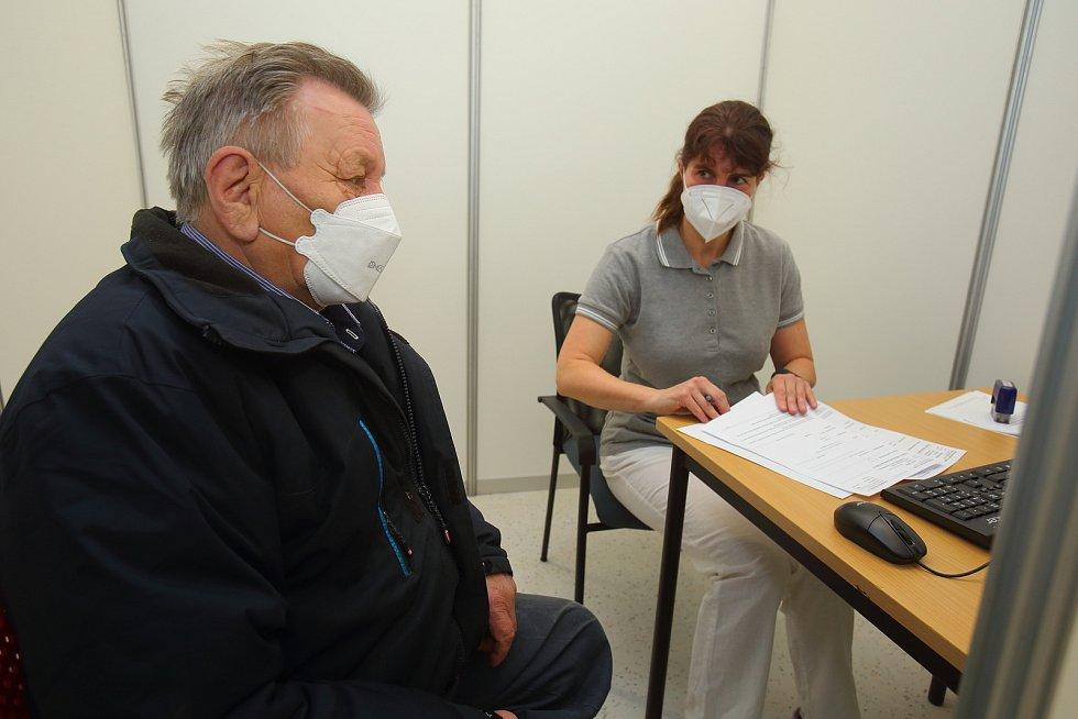 Plzeň - Skvrňany-očkovací centrum
