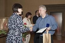 Slavnostní předávání Zlatých křížů 3. třídy a Zlatých medailí profesora Jana Jánského v Plzni dárcům krve
