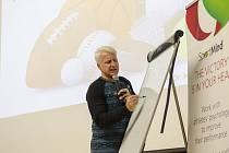 Marian Jelínek byl hlavní osobností semináře zaměřeného na psychologii sportovců. který uspořádal tým Akademie individuálních sportů Plzeňského kraje.