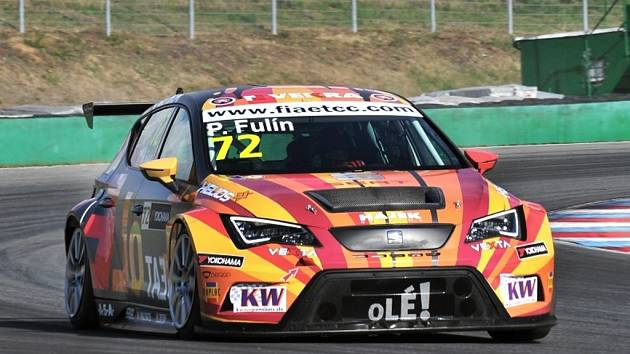 Petr Fulín v Brně druhý závod nedojel.