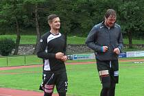 Karel Šmíd (vlevo) a Jakub Šindelář.