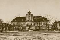 Křimický zámek v roce 1913.