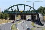 Po novém mostě v Plzni budou jezdit tramvaje.