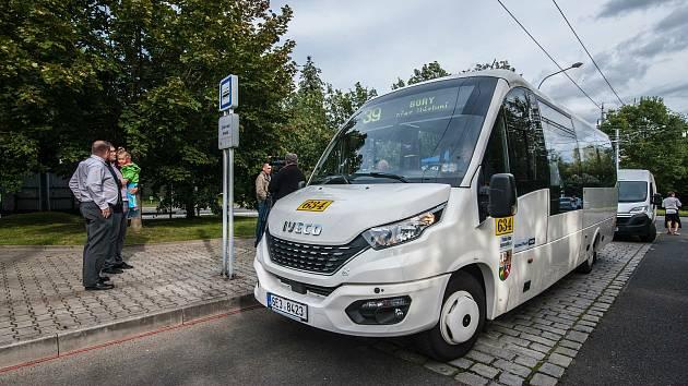 Nová autobusová linka na Výsluní.