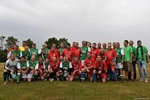 Fotbalisté Mantova se v roce 2017 utkali se starou gardou Bohemians 1905