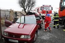Dopolední nehoda v Chotěšově
