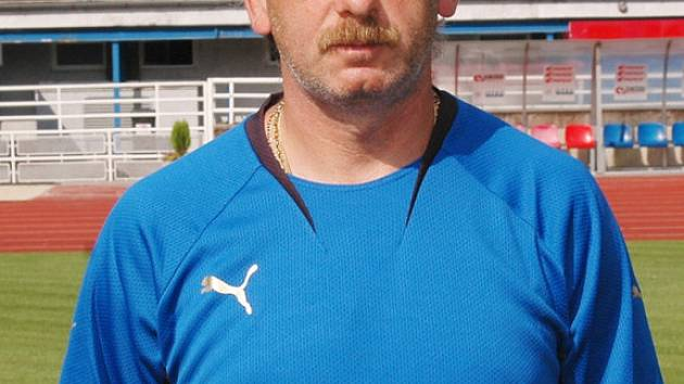 Trenér Viktorie Plzeň Stanislav Levý.