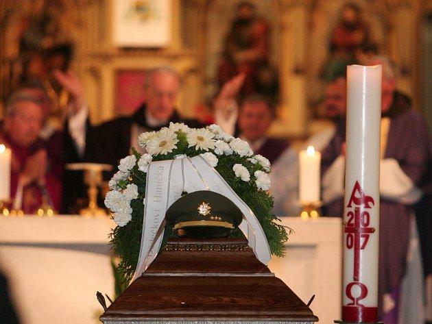 Pohřeb Luboše Hrušky