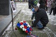 Pietní setkání k uctění památky Josefa Hlavatého v Plzni