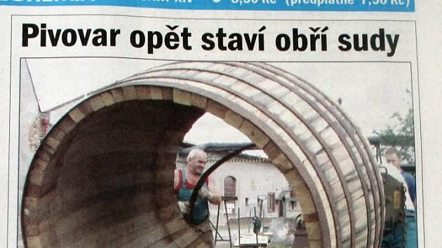 Plzeňský deník, 1. 8. 2005