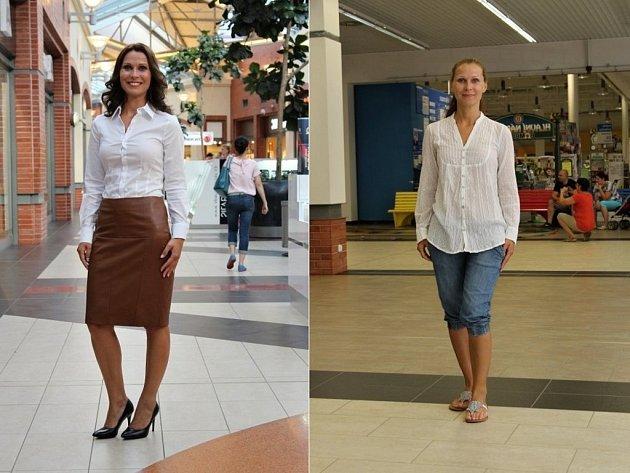 Alena Kosová přišla v pohodlných džínových kraťasech, bílé halence a žabkách. Odešla doslova za dámu.